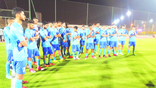 Bahrain U-23 team face Saudi Arabia