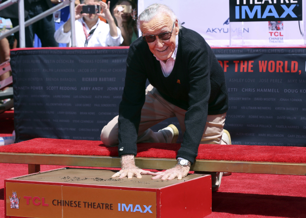 In Pictures: Hollywood honours Marvel Comics legend Stan Lee