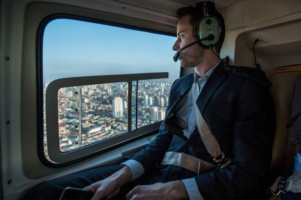 Want to escape Sao Paulo's traffic? Take a flying taxi