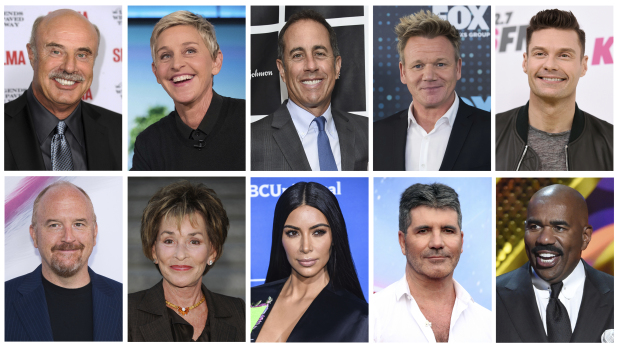 Here are some of TV's highest-paid stars