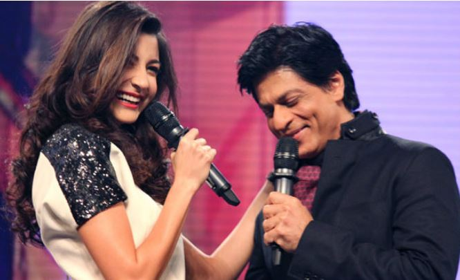"Anushka Sharma told SRK, ""You can't act"" when they first met"
