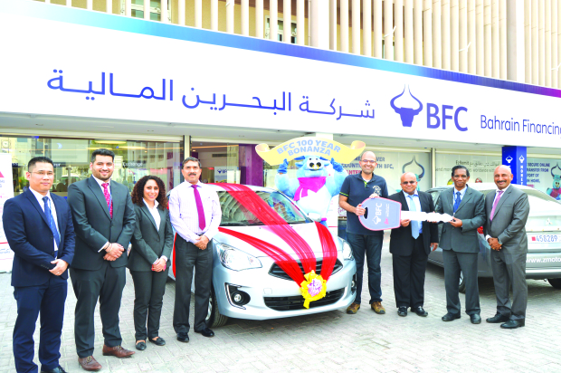 Akram wins car in BFC raffle draw