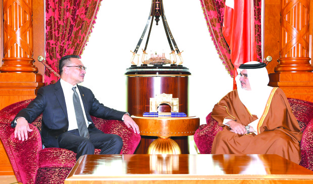 Crown Prince reaffirms Bahrain's commitment to fight terror