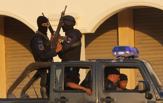 Egypt security forces kill two suspected militants, ministry says