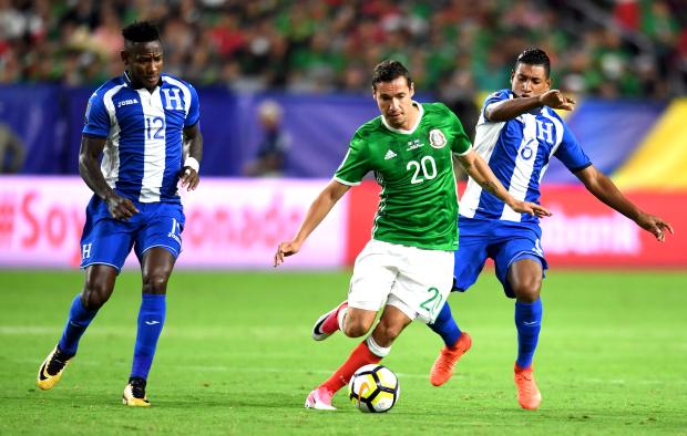 Mexico and Jamaica in semis