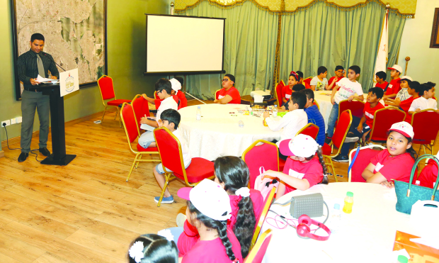 Capital Governorate's summer camp