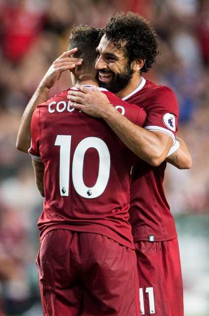 Salah, Coutinho on target as Liverpool clinch Premier League Asia Trophy