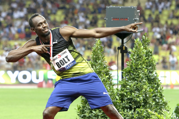 Bolt goes sub-10 in Monaco