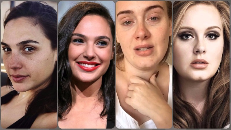 These photos of celebrities without makeup prove they look just like us in real life!