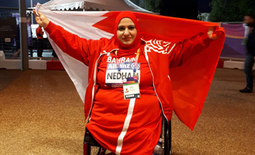 Bahrain's Fatima Abdulrazzaq claims gold medal in World Para Athletics Championships