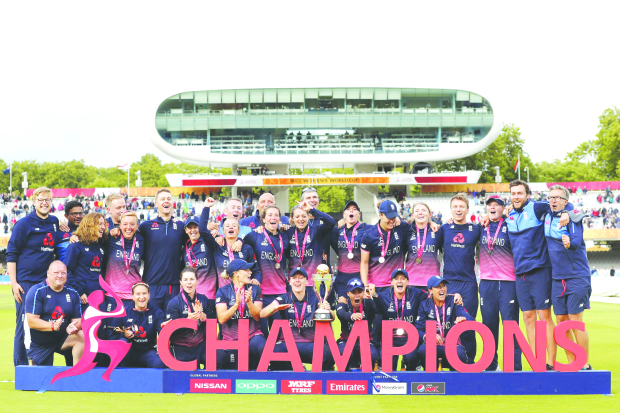 QUEENS OF CRICKET: England edge out India to lift World Cup