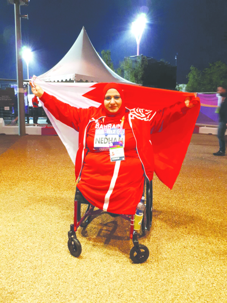 Fatima bags world para athletics gold