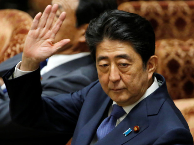 Abe denies abusing influence in Japan favouritism scandal