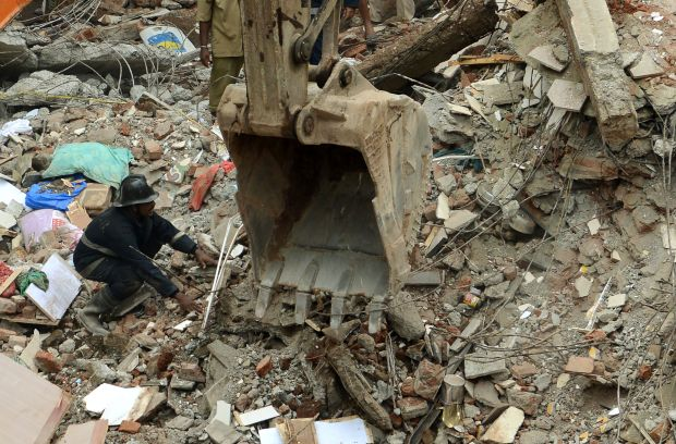 India: Mumbai building collapse kills at least eight, many feared trapped
