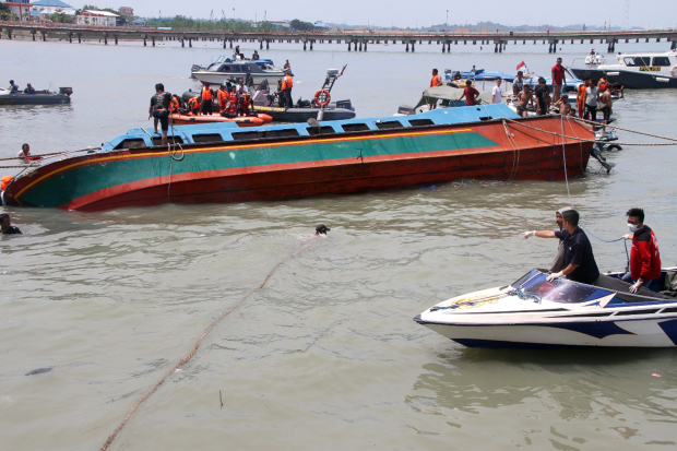 At least seven dead, 12 missing in boat accident in Indonesia