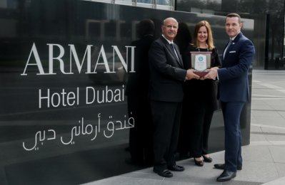 Armani Hotel Dubai awarded first Green Globe certification