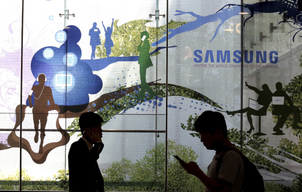 Samsung soars, sidestepping jailing of chief, Note 7 fiasco