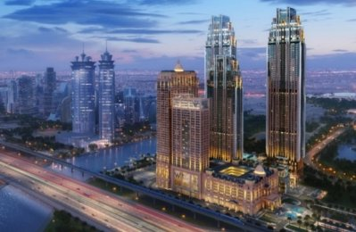 Al Habtoor City residential towers 70pc complete