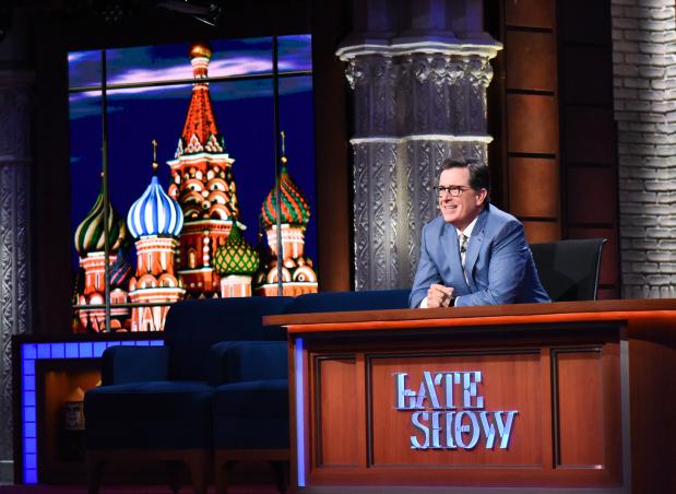 Showtime sets a Donald Trump cartoon from Stephen Colbert