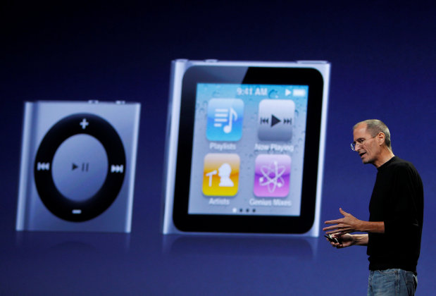 Apple axes iPod nano and shuffle