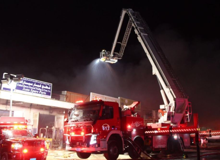 Huge fire engulfs paper factory, guts nine shops