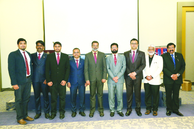 New Awal Gulf Toastmasters committee inducted