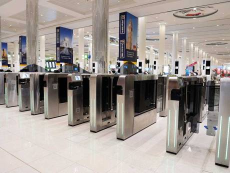 New smart gates set to cut queues at Dubai airport