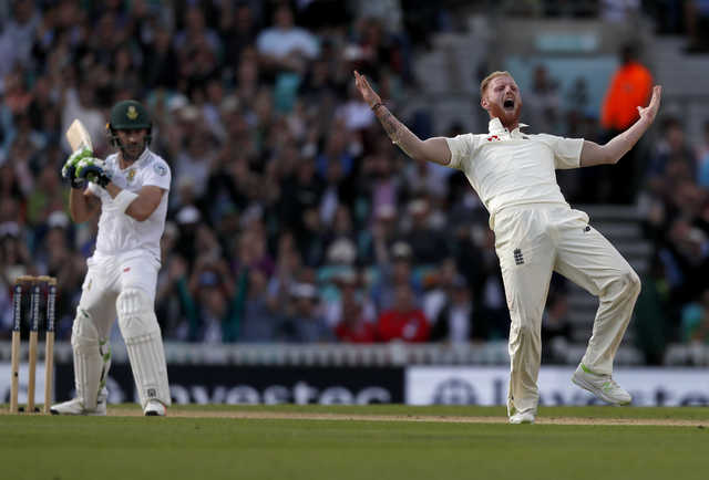 Stokes burst puts England closer to victory