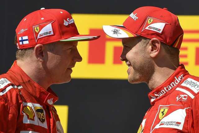 Vettel and Raikkonen set to stay at Ferrari