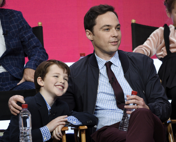 Jim Parsons hails 'Young Sheldon' star as 'in control' kid