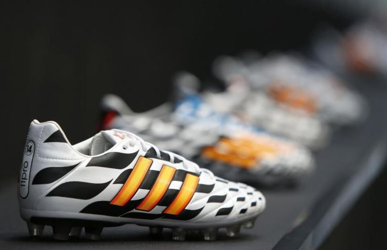 Adidas powers ahead in North America and China