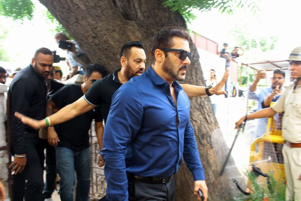 Bollywood: Photos: Salman Khan appears in Jodhpur court for Arms Act case