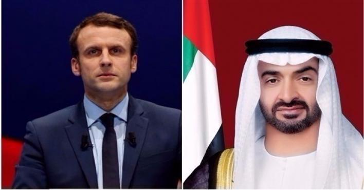 Abu Dhabi CP, French President discuss ways to combat terrorism