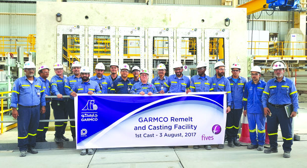 New plant at Garmco begins output