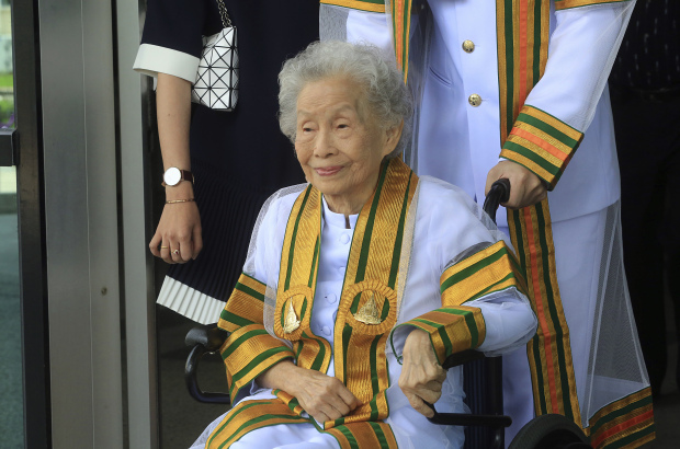 91-year-old Thai women earns bachelor's degree