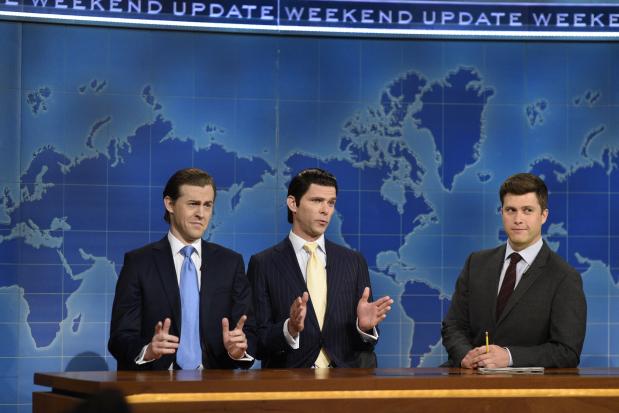 'Weekend Update' pokes Trump, Scaramucci on 'SNL' return