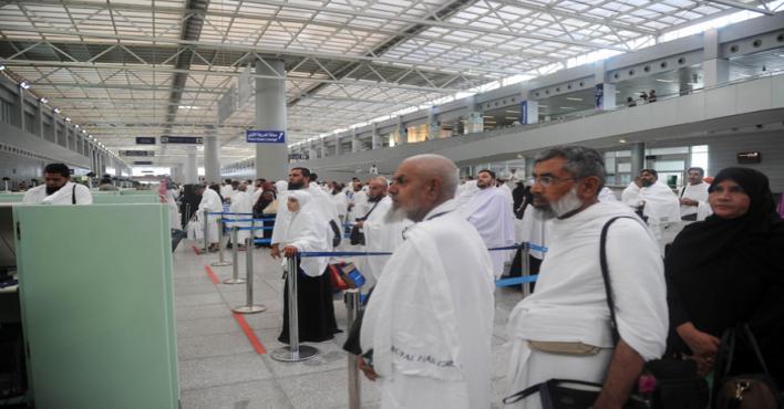Up to half a million pilgrims arrive in Saudi