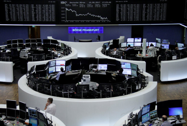 European shares head towards their worst week this year