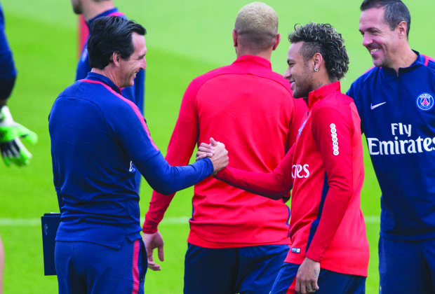Neymar eyes debut as cheque cleared