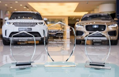 Alfardan wins big at JLR marketing awards