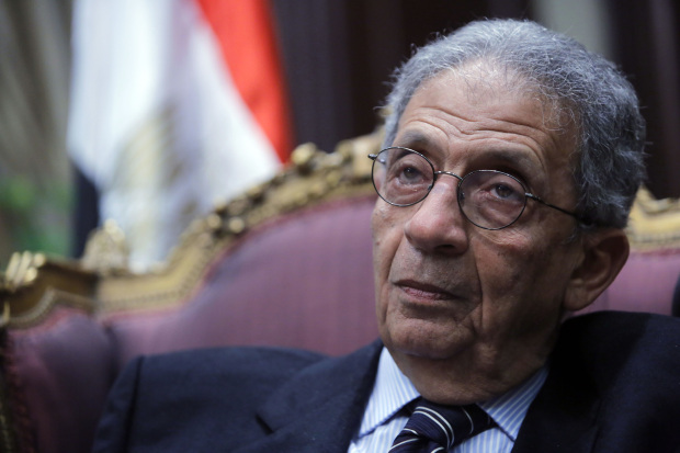 Moussa rejects calls to extend Egypt's presidential terms