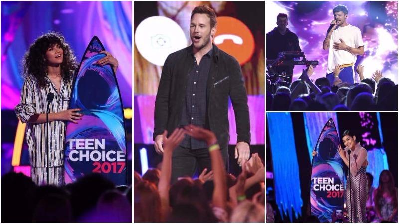 In Pictures: Chris Pratt, Zendaya make their mark at Teen Choice Awards