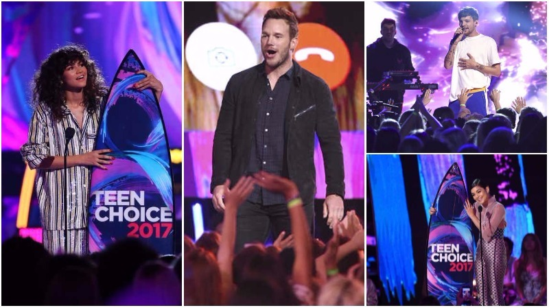 In Pictures: Chris Pratt, Zendaya make their mark at Teen Choice Awards