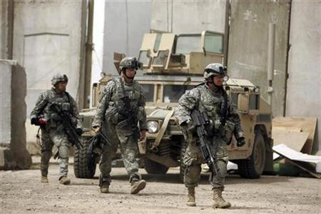 US military: Two soldiers killed and five wounded in Iraq combat operations