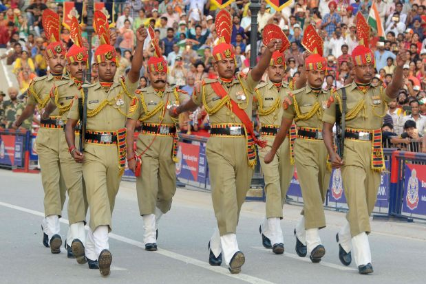 World News: In Pictures: India celebrates 70 years of independence