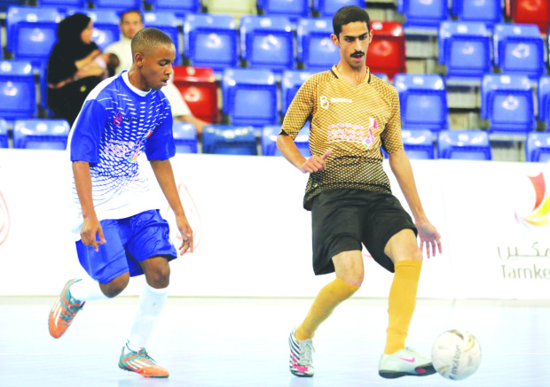 17-goal victory joy for Al Junoob
