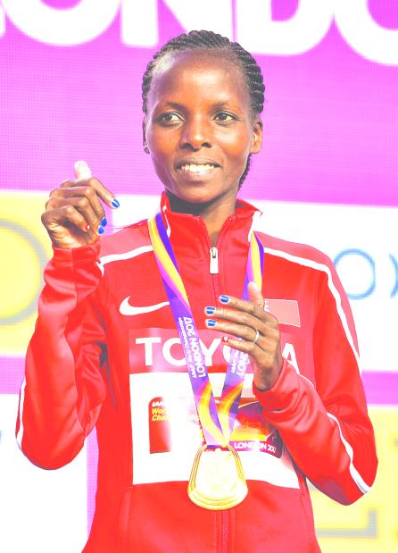 King hailed for world athletics success