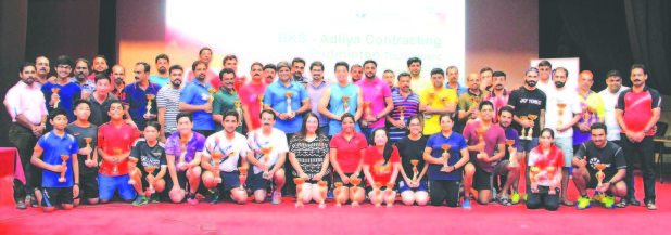 BKS hold GCC badminton tournament