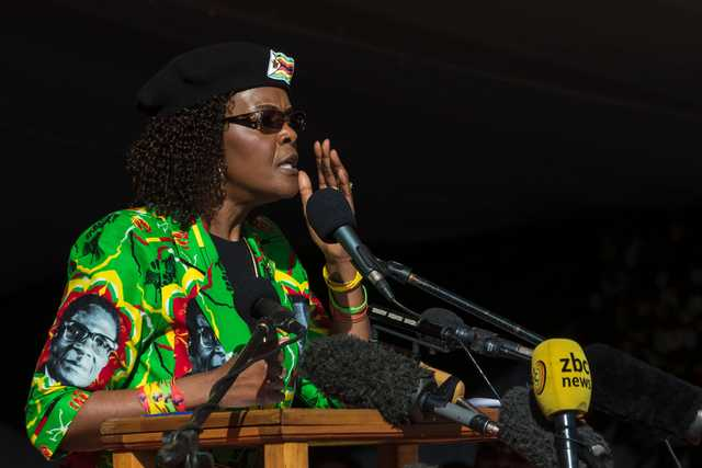 Grace Mugabe probed over alleged assault in South Africa