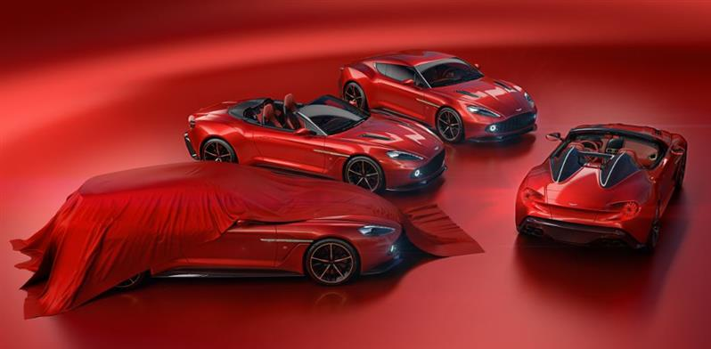 The Vanquish Zagatos: Speedster and Shooting Brake join Coupe and Volante